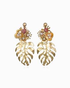 Monstera Garden Earrings