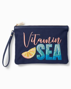 Vitamin Sea Bling Wristlet