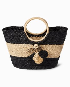 Toes in the Sand Straw Bag