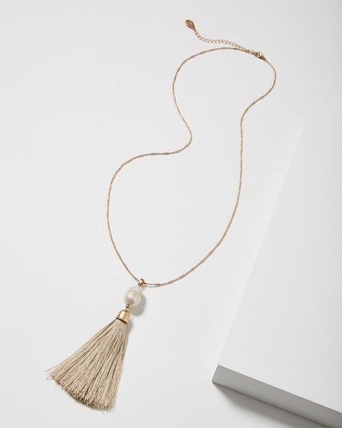 Las Salinas Long Necklace