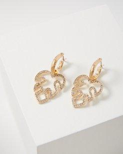 Monstera Mirage Cluster Earrings