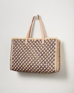 Celebration Raffia Tote