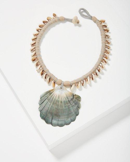 Coastal Large Shell Necklace