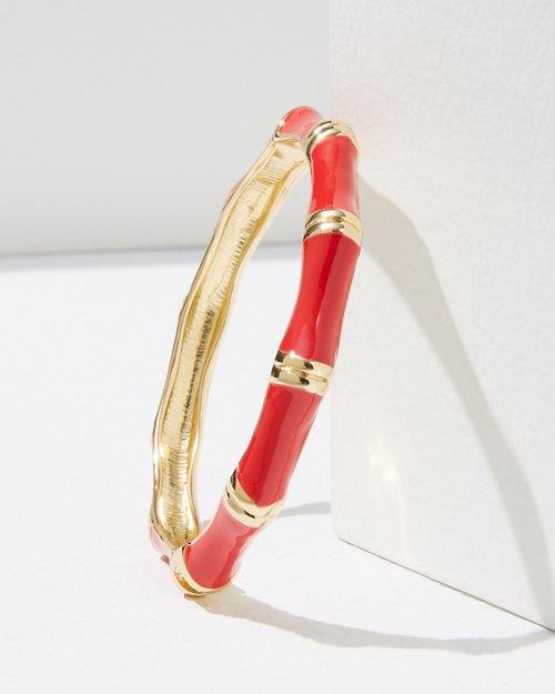 Bamboo Enamel Bracelet