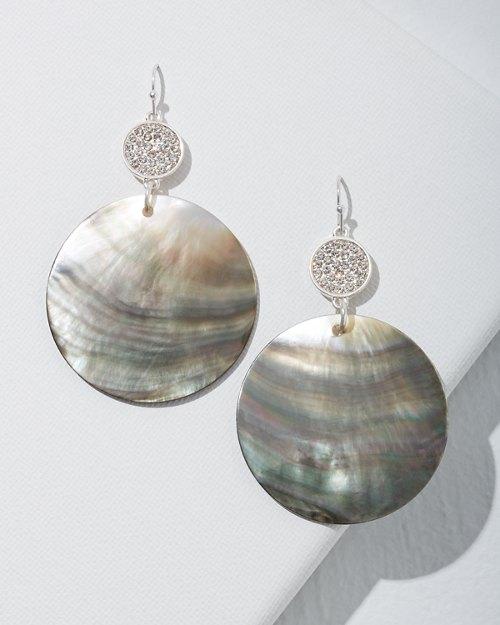 Seychelles Shell Disc Earrings