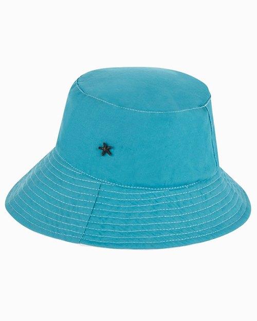 Annie Cotton Canvas Reversible Bucket Hat