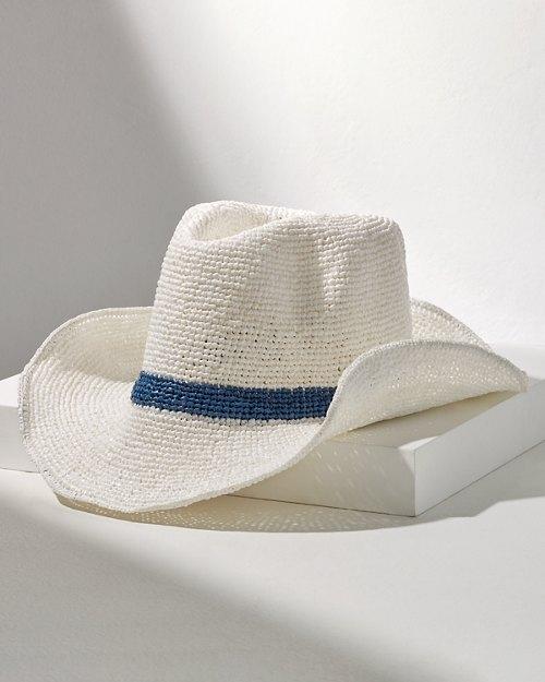 Taya Straw Fedora Hat