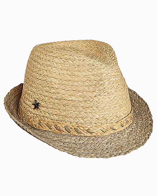 Aki Raffia Fedora Hat