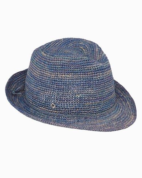 Gigi Crochet Fedora Hat