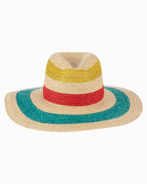 Prisilla Stripe Straw Hat