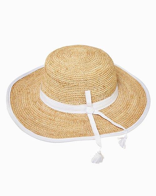 Sonya Crochet Ribbon Hat